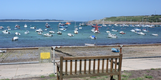 Ballade au Scilly :  le front de mer ? St Mary's