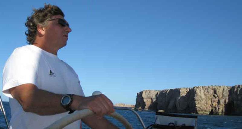 le skipper Jean Gillet